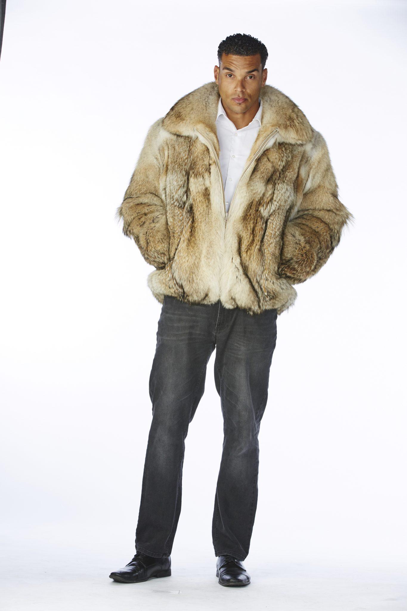Coyote Fur Coat Womens Large Estate Furs >> 32 Usa Coyote Zip Up