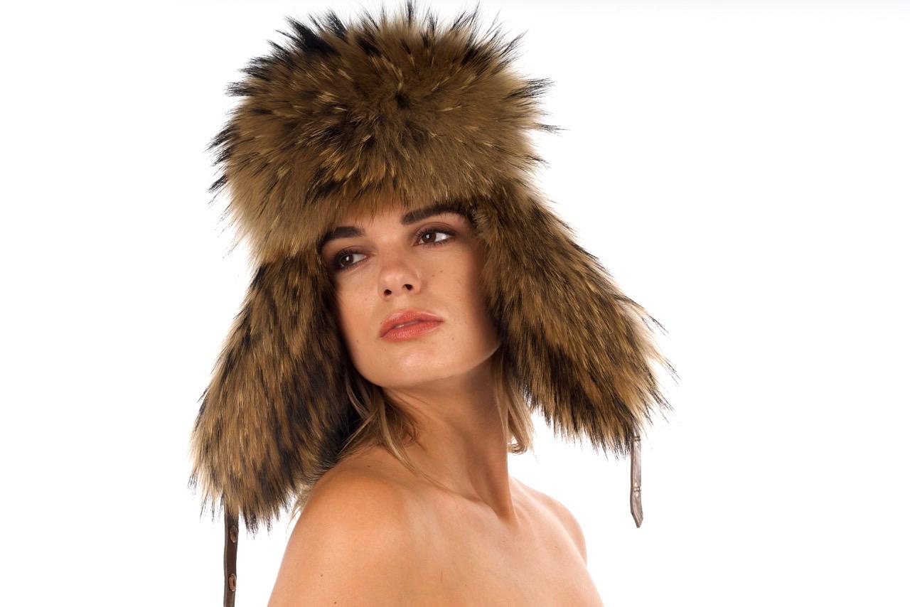 Finn Raccoon Trooper Hat